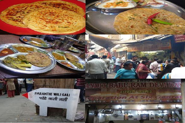 Chandni Chowk the Famous Food Place Pranthe Wali Gali