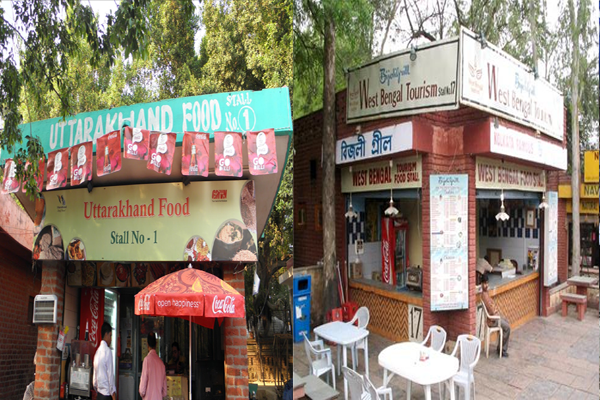 Dilli Haat Famous Food Place in Delhi