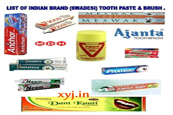 List of Swadeshi (Indian) Products & Companies for Daily Use {2019}