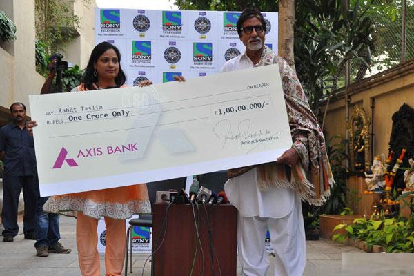 Rahat Taslim KBC Crorepati Winner