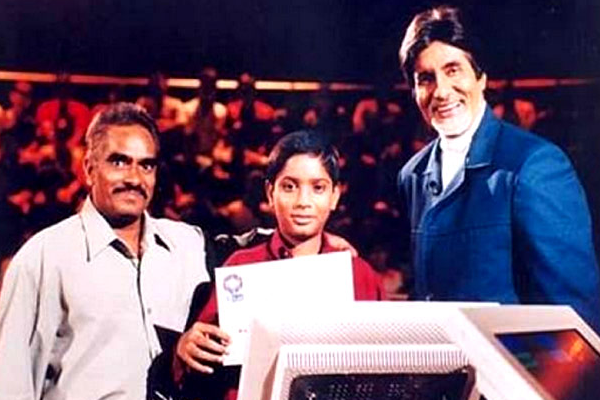 Ravi Mohan Saini in KBC Junior Crorpati Winner