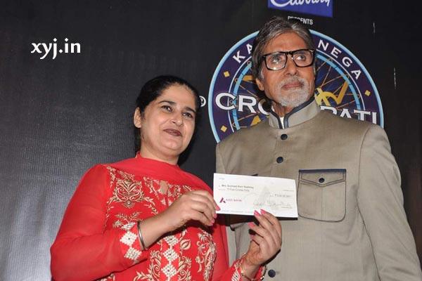 Sunmeet Kaur Sawhney KBC Crorepati Winner