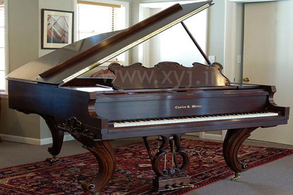 Charles R. Walter piano image