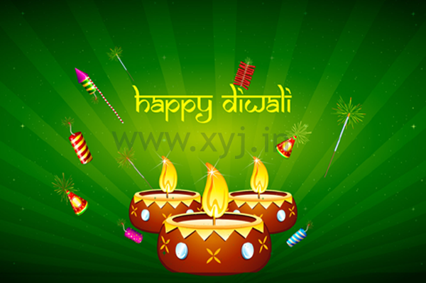 Happy Diwali Firework Cracker Image