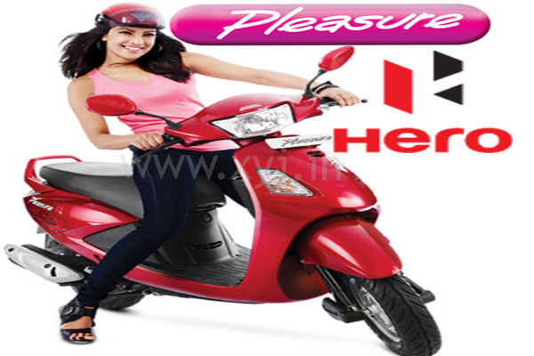 Hero MotoCorp Pleasure Scooter, scooty