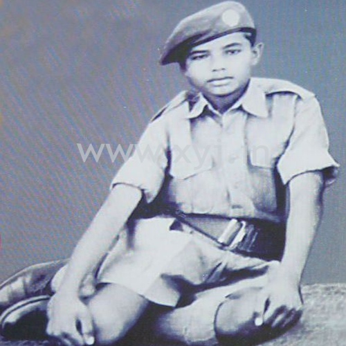 Narendra Modi Childhood Pic in RSS