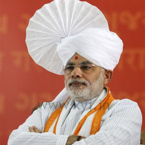 Narendra Modi Wearing Different Caps 11