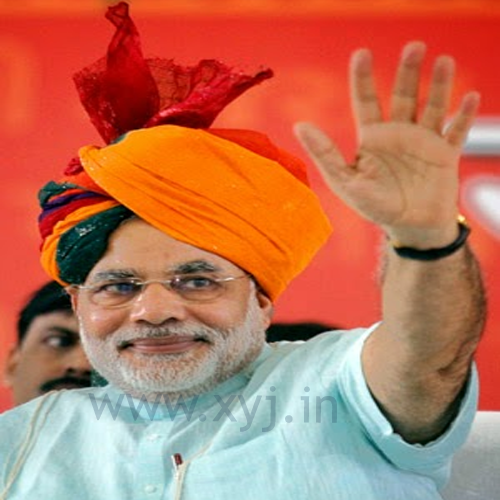 Narendra Modi Wearing Different Caps 12