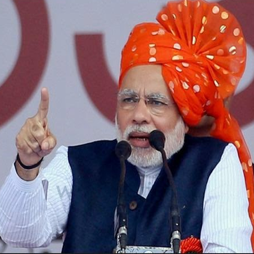 Narendra Modi Wearing Different Caps 13