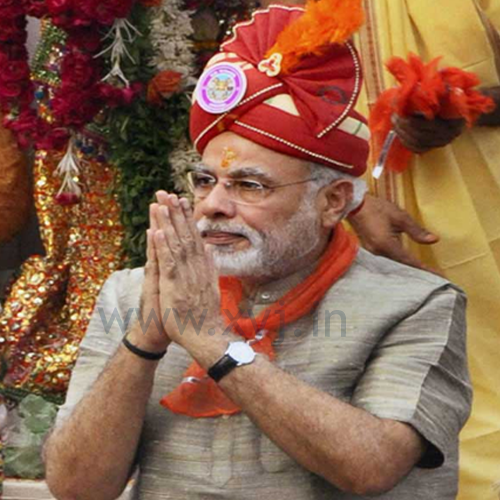 Narendra Modi Wearing Different Caps 14