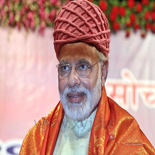 Narendra Modi Wearing Different Caps 15