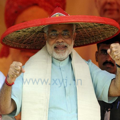 Narendra Modi Wearing Different Caps 19