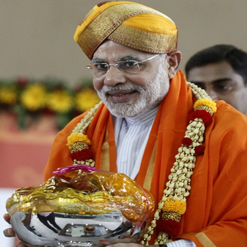 Narendra Modi Wearing Different Caps 20