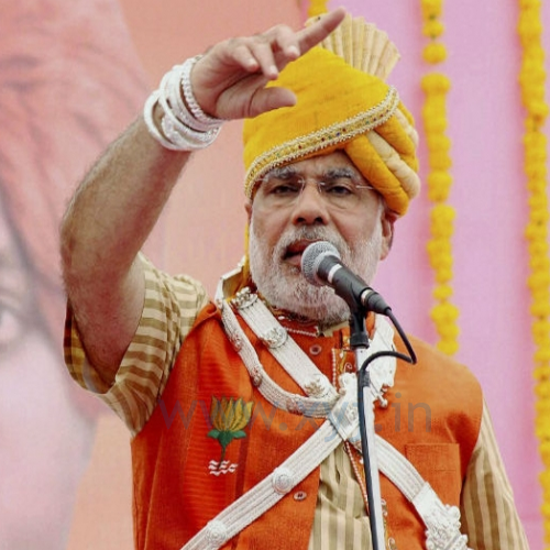 Narendra Modi Wearing Different Caps 22