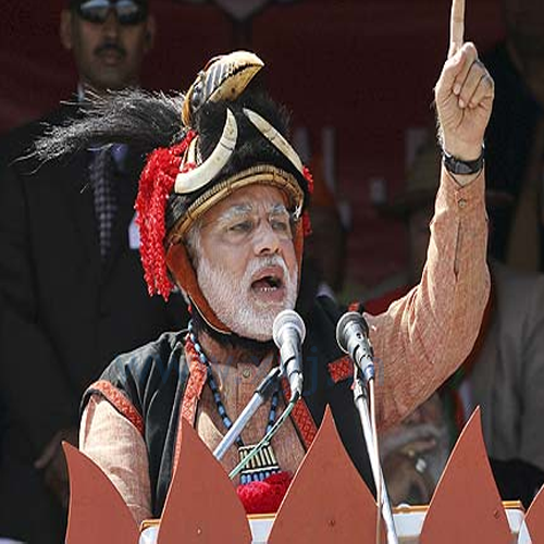 Narendra Modi Wearing Different Caps 24