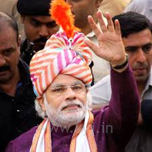 Narendra Modi Wearing Different Caps 28