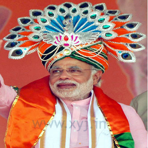 Narendra Modi Wearing Different Caps 33