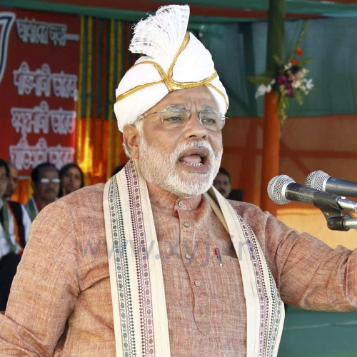 Narendra Modi Wearing Different Caps 35