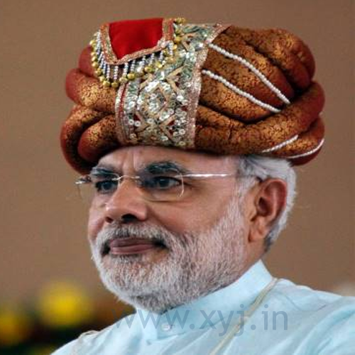 Narendra Modi Wearing Different Caps 37