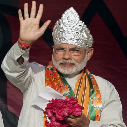 Narendra Modi Wearing Different Caps 4