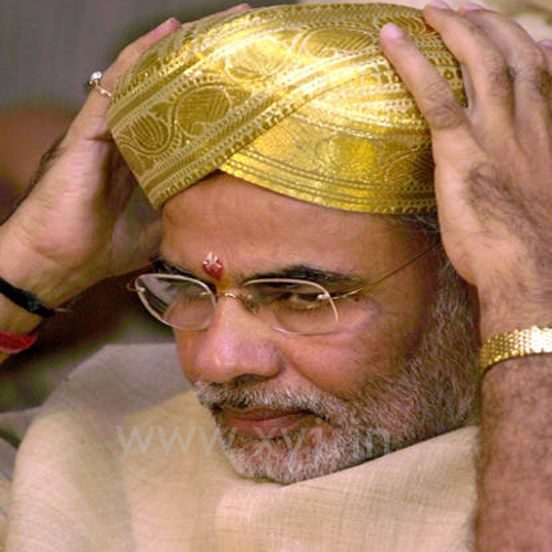 Narendra Modi Wearing Different Caps 5