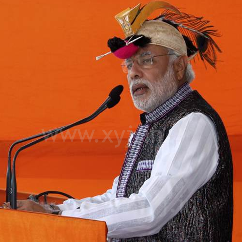 Narendra Modi Wearing Different Caps