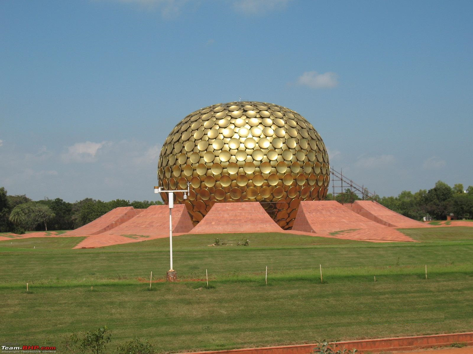 Pondicherry Matrimandir Auroville