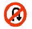 U-turn prohibited image
