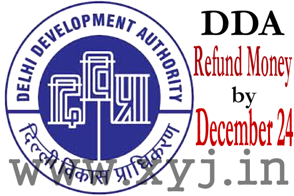 DDA Refund Money Image
