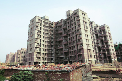 cancellation of DDA Flats Rohini
