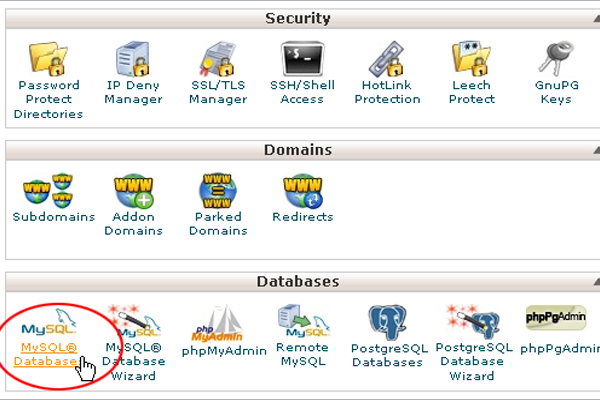 How to Create MySql Database with Cpanel