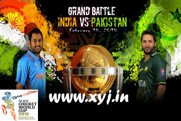 India Vs Pakistan Cricket World Cup 2015 Image Photo Pic