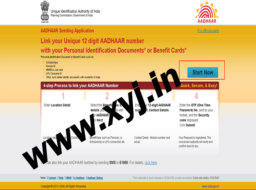 Link Aadhaar to LPG connection Start Now Image