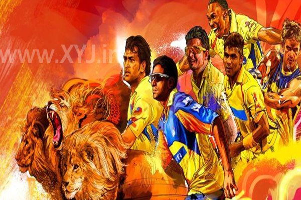 Chennai Super Kings (CSK) Image 2015