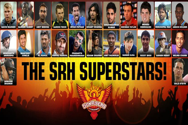 Sunrisers Hyderabad 2015 Team Squad & Match Schedule Details