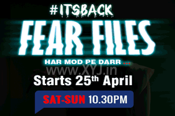 Fear Files 2 Air Date & Time on Zee TV