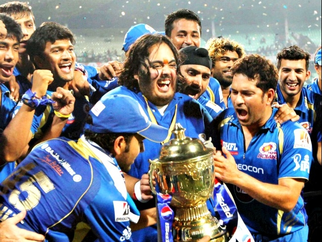 Mumbai indian won pepsi ip 8 2015 image winning moment