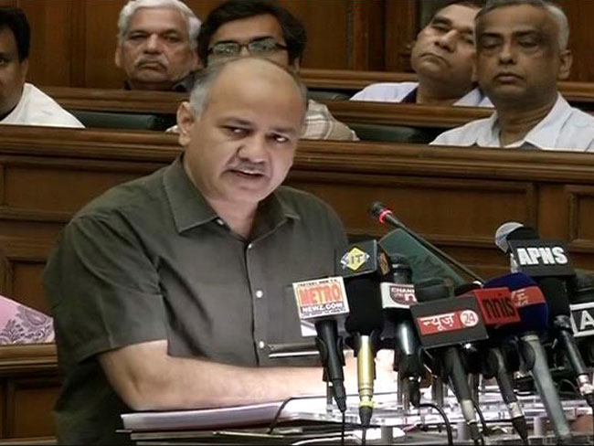 Highlights of Aam Aadmi Party (AAP) First Delhi's Budget by Deputy CM Manish Sisodia