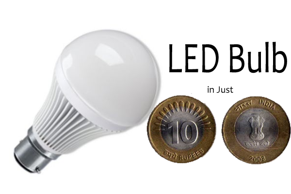 Buy LED Bulb at Rs. 10 Under DELP Scheme Implement by Delhi Govt. and Launches by Government of India