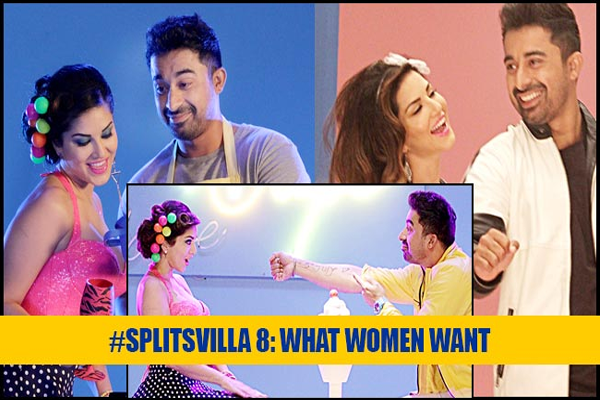Rannvijay and Sunny Leone in MTV Splitsvilla 8
