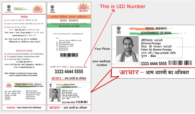 Get Your Lost Aadhaar No. (UID) or Enrollment No. (EID) Online in 5 Minutes