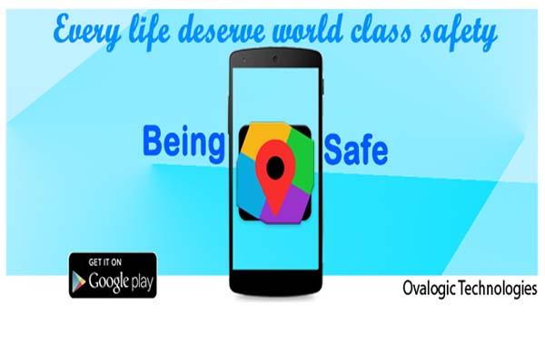 Being Safe app image