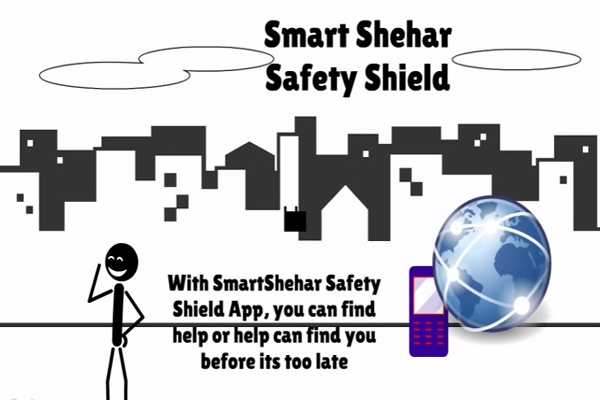 Smart Sahar Women Safety Shield Protection