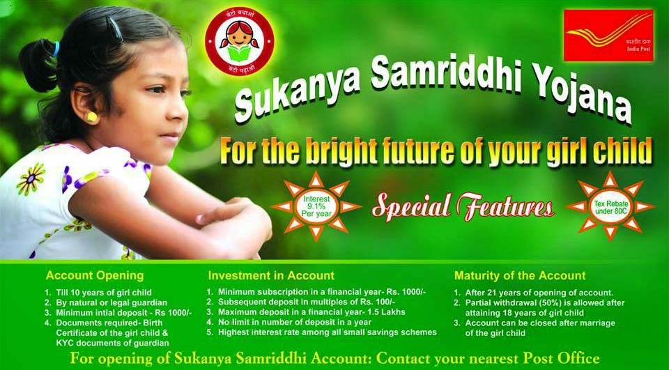 Know Everything about Sukanya Samriddhi Yojana (Scheme)