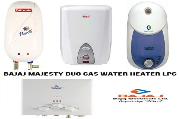 List of Best Gas Geyser Brands Companies in India