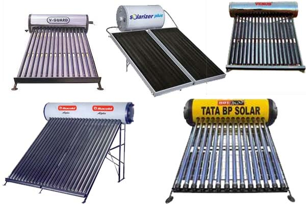 List of Best Solar Geyser Brands Companies in India