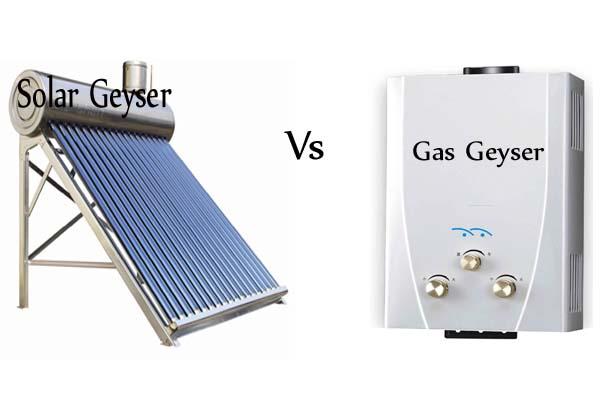 Gas Geyser Vs Solar Geyser Which One is Best?