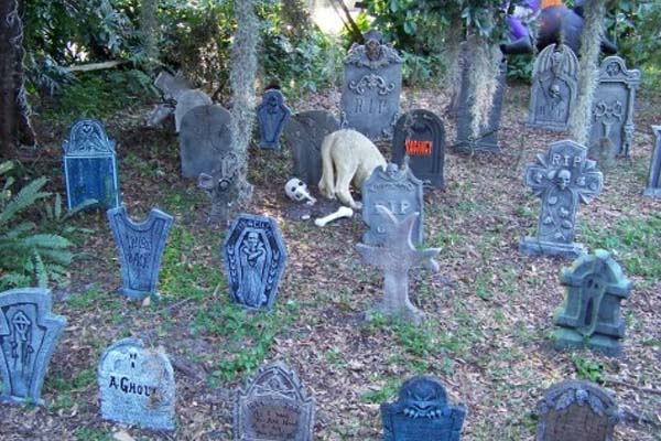 Backyard Cemetery