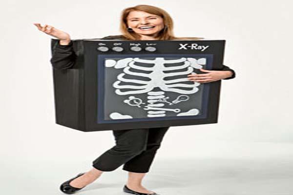 Box  halloween costume