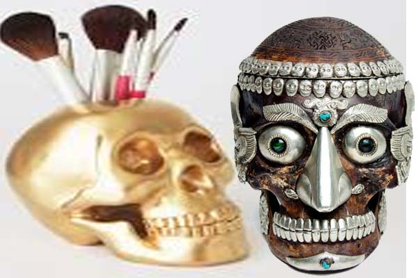 Decorative Human Skulls
